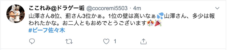 シャイニー薊選手 3位 ビーフ佐々木クラシック 2019